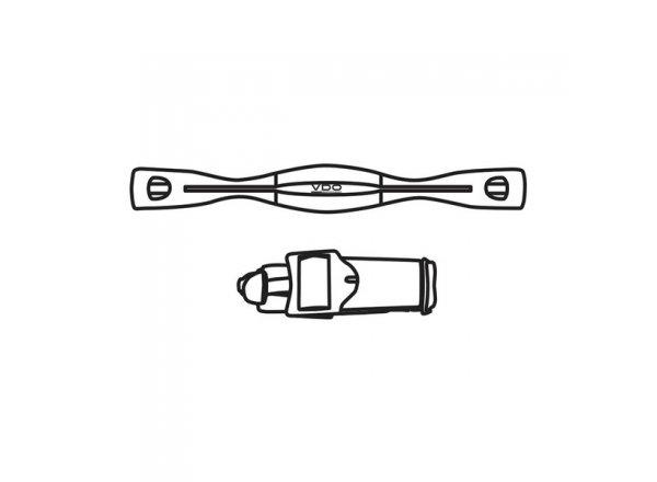VDO digitální hrudní pás pro modely M5WL a M6WL
