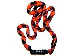 Zámek KTM Smart Chain Lock Code Orange/black