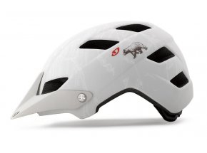 Helma na kolo GIRO FEATURE mat white california bear