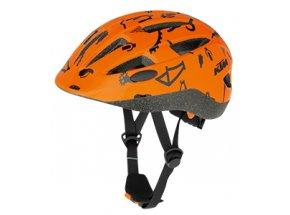 Dětská cyklistická přilba KTM Factory Kids Orange