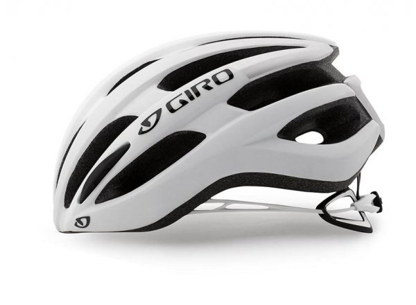 Cyklistická helma GIRO FORAY Matt white/silver