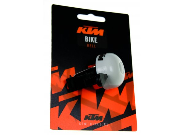 Zvonek KTM Bell Toolless White