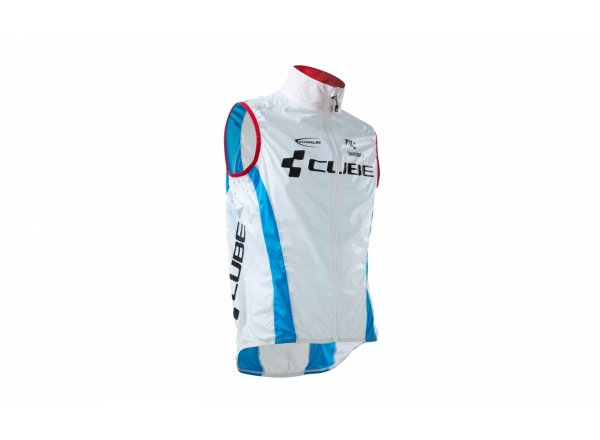 Vesta CUBE Teamline pure white/black/blue/red