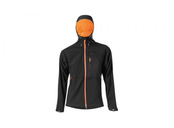 Dámská bunda KTM Factory Team SoftShell Ladies Black (orange)   Kola ... 1b7d4f9104
