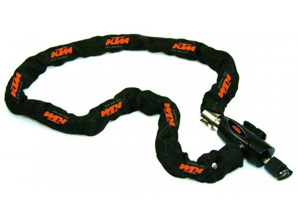 Zámek KTM Chain Lock Key Black/orange