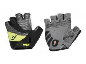 Cyklistické rukavice KTM Factory Line black (lime)