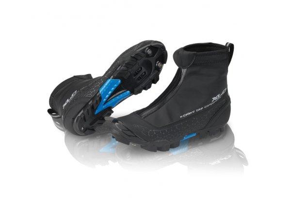 Zímní cyklistické tretry XLC CB-M07 Black/blue