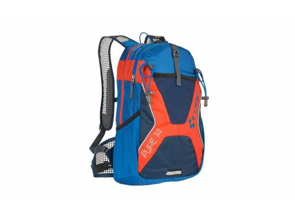 Cyklistický batoh Deuter Cube Pure 14 Blue/orange