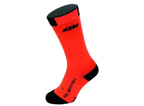 Ponožky KTM Factory Team Recovery Orange/black