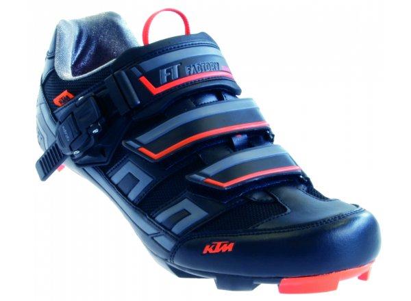 Silniční tretry KTM Factory Team Road Black/orange