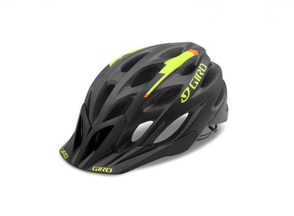 Cyklistická helma GIRO PHASE Mat black/lime/flame