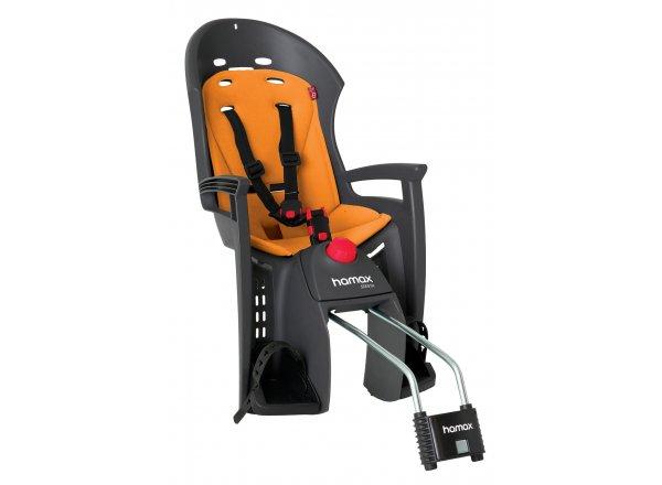 Dětská sedačka Hamax Siesta Dark grey/orange