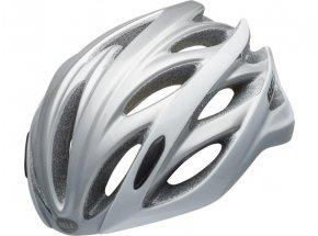 Cyklistická helma BELL OVERDRIVE White/silver