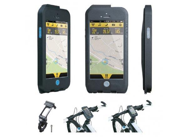 TOPEAK Weatherproof RideCase pro iPhone 5 Black/blue