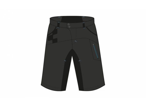 Cyklistické kraťasy CUBE Motion Shorts Black