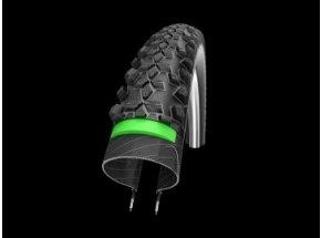 Plášť Schwalbe Smart Sam Plus GreenGuard Black