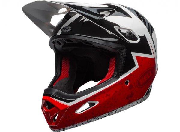 Sjezdová helma BELL TRANSFER 9 Black/red/white