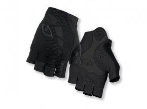 Cyklistické rukavice GIRO Zero mono black