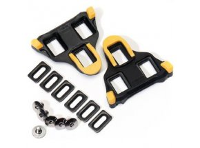 Kufry SHIMANO SPD SL SM-SH11 s vůlí (1 pár) Černo-žlutá