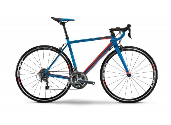 Silniční kolo Haibike Race 8.20 2016 Blue/red/black