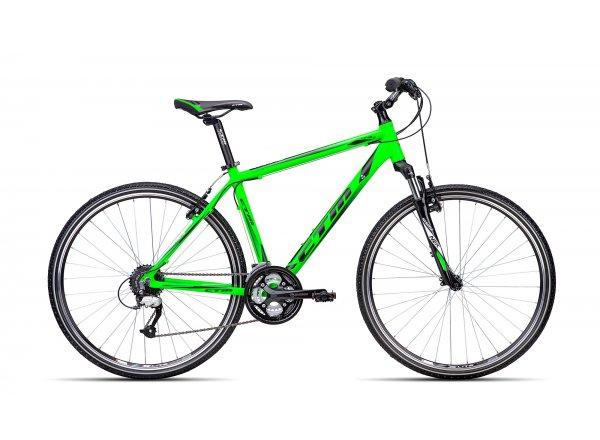 Krosové kolo CTM Tranz 1.0 2016 Reflex green