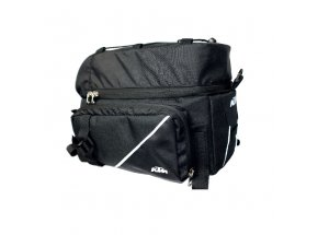 Brašna na nosič KTM Carrier Top Trunk Bag + 6+4+4L Black