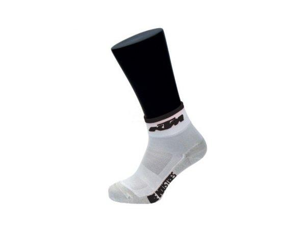 Ponožky KTM Carbon White/Black