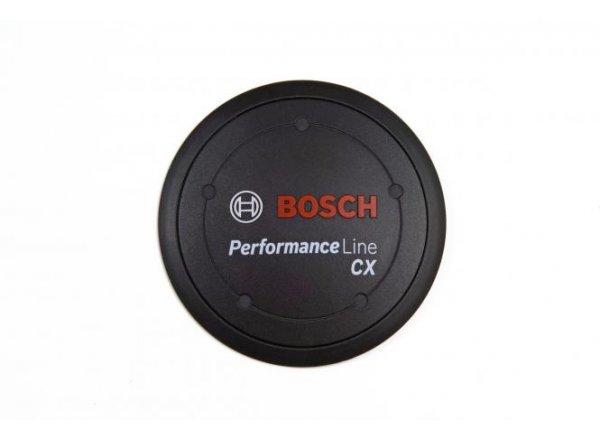 Logo krytka k motoru Bosch Performance line CX 80 mm Black