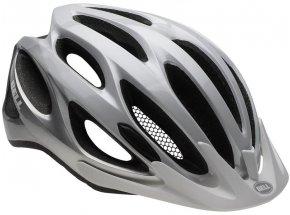Cyklistická helma Bell Traverse White/silver repose