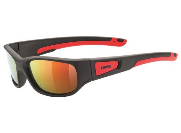 Brýle UVEX SPORTSTYLE 506 Black Mat Red/Mir Red