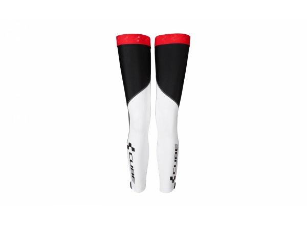 Návleky na nohy Cube RACE zateplené white/black/red