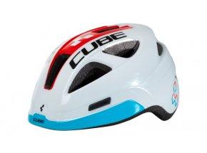 Dětská cyklistická helma CUBE Pro Junior Teamline