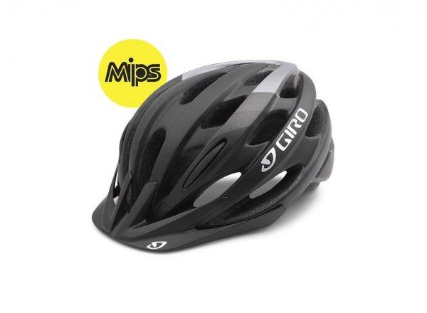 Cyklistická helma GIRO REVEL Mips Matt black/charcoal