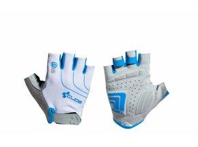 Dámské rukavice CUBE  Natural Fit LTD WLS White/blue