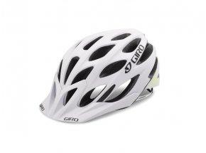 Cyklistická helma GIRO PHASE Mat white/lime