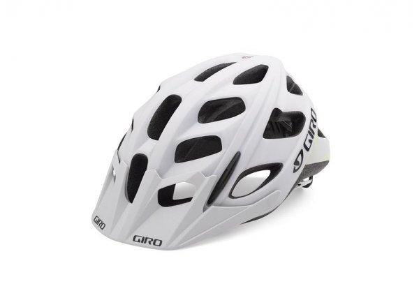 Cyklistická helma GIRO HEX Mat white/lime