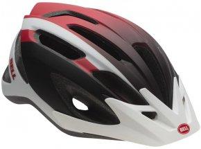 Cyklistická helma Bell Crest Mat white/red/black