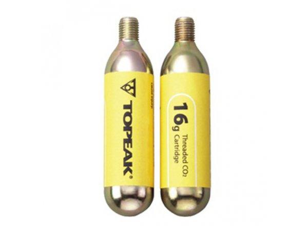 TOPEAK náplň CO2 2ks Yellow