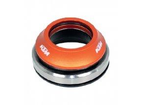 Hlavové složení KTM Team 10 46 Orange/black