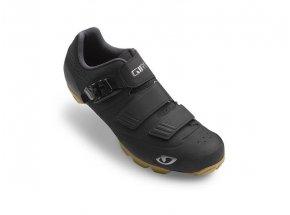 Cyklistické Tretry GIRO PRIVATEER R + brýle ONIX zdarma Black gum