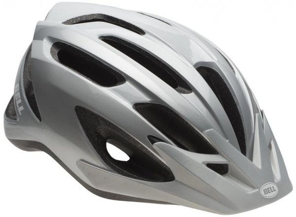 Cyklistická helma Bell Crest Grey/ silver