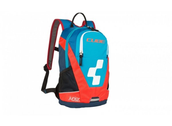 Batoh CUBE Backpack Junior Action Team Blue/flash red