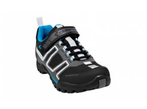 Cyklistické tretry CUBE ALL MOUNTAIN Black/Grey/Blue