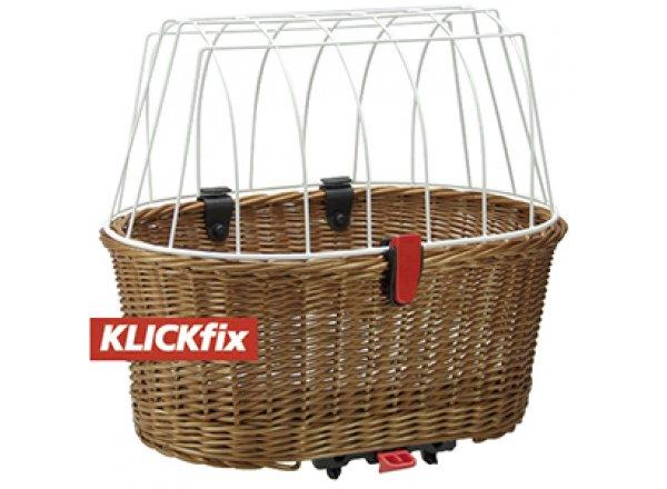 Koš na nosič pro převoz psů Klickfix Doggy Basket Grey
