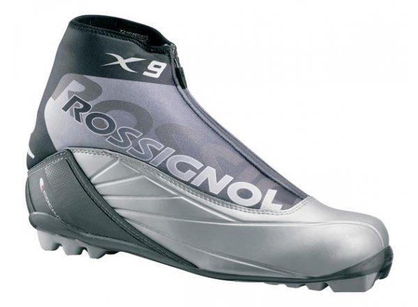 BOTY NA BĚŽKY ROSSIGNOL X-9 CLASSIC Black/grey/silver