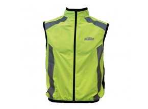 Reflexní vesta KTM Safety Vest Neon yellow