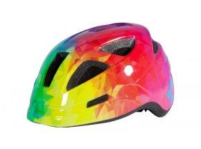 Dětská cyklistická helma CUBE Pro Junior Polygon Rainbow