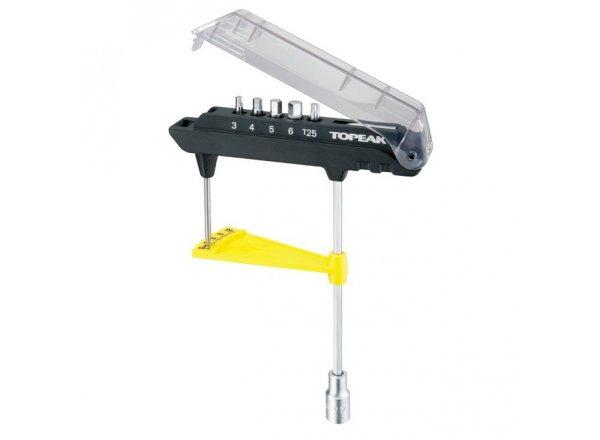 TOPEAK nářadí ComboTorq Wrench&Bit Set