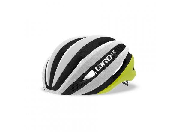 Cyklistická helma Giro Synthe MIPS Citron/White