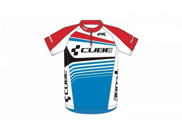 Dres krátký rukáv Cube Teamline Junior teamline